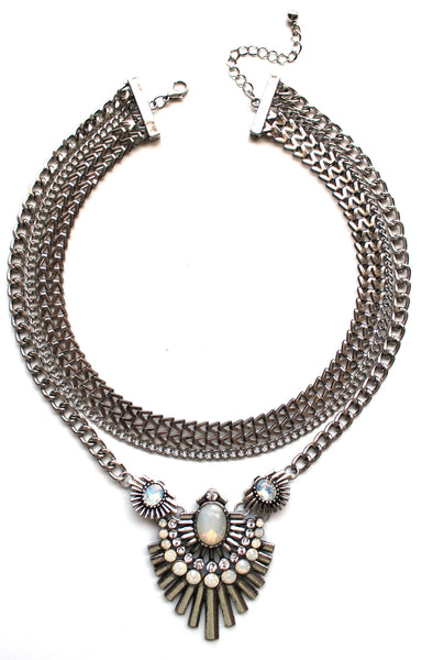 Rock Star Iridescence Necklace