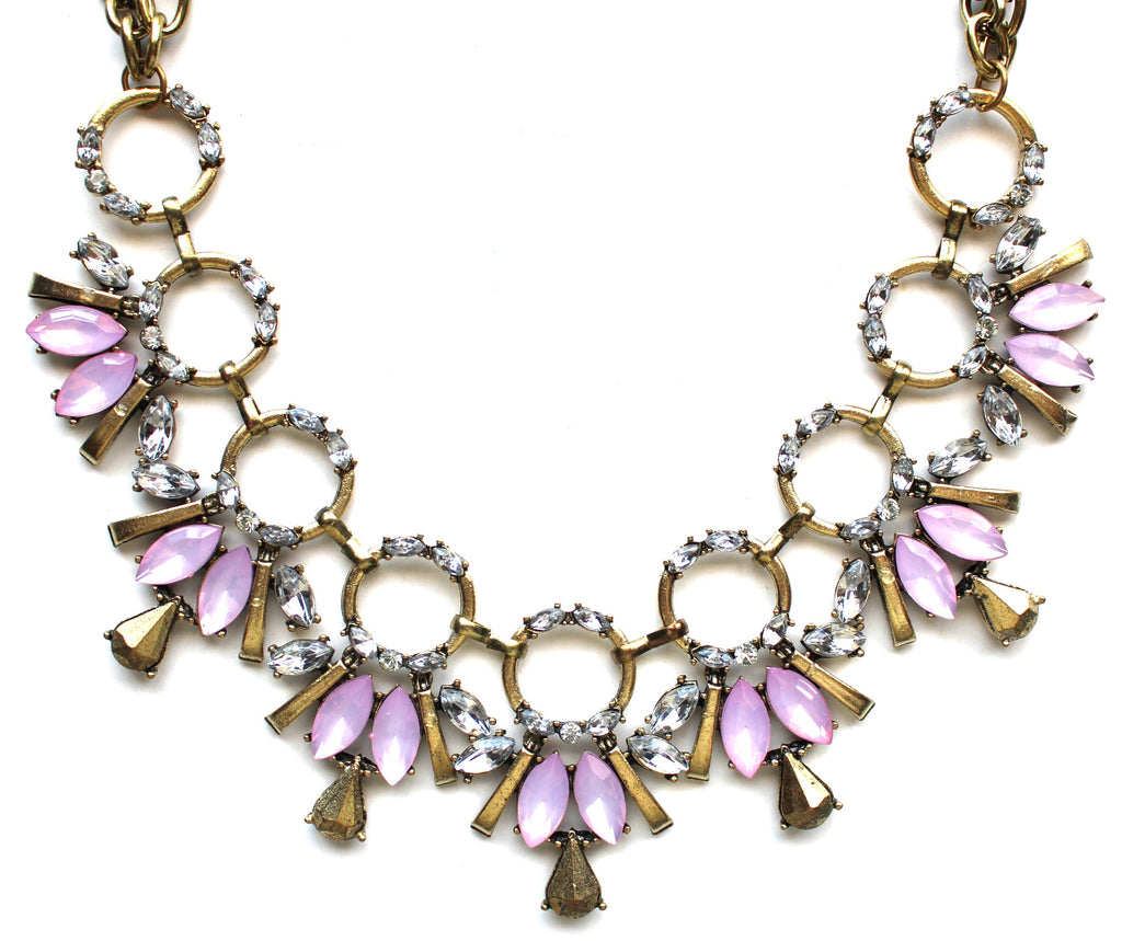 Rosy Lilly Shine Necklace