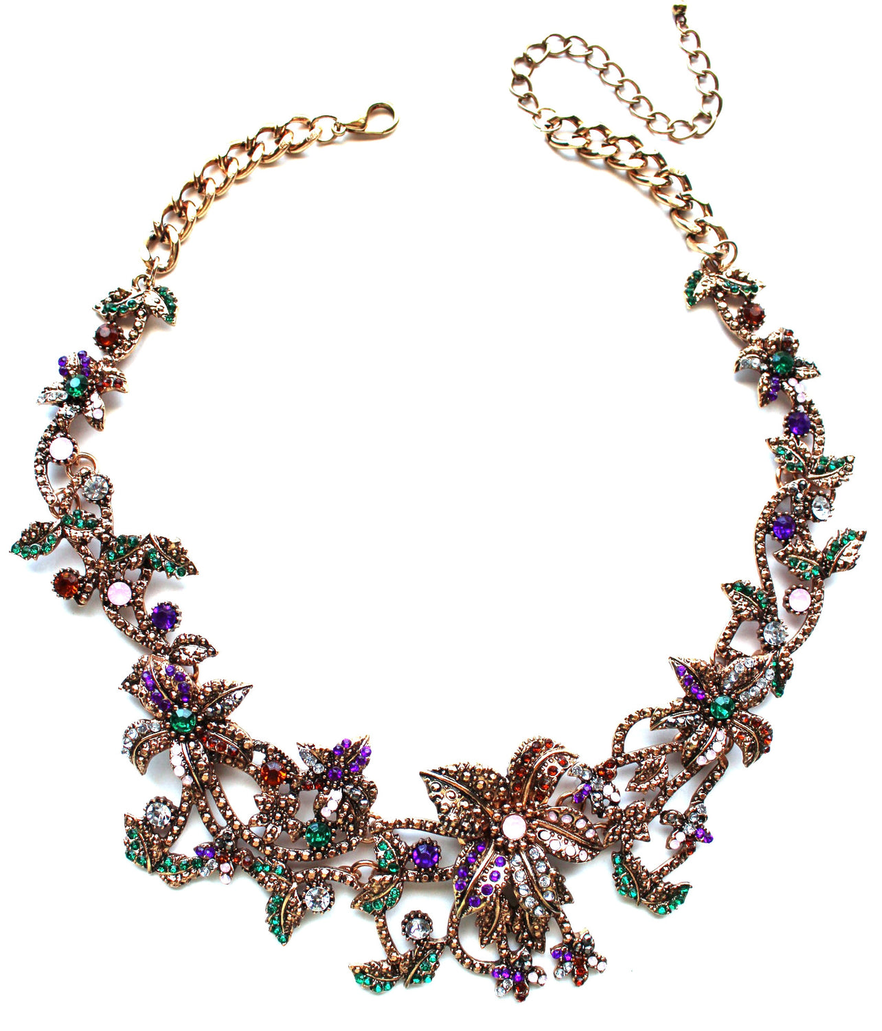 Garden Romance Statement Necklace