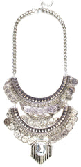 Glam Armor Statement Necklace