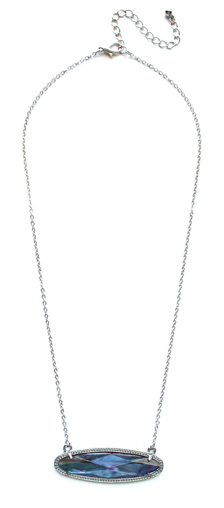Iridescent Illusions Dainty Necklace