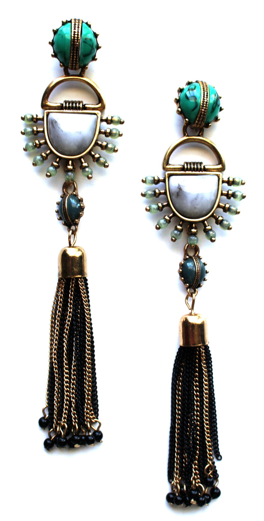Lady Fringe Frenzy Earrings