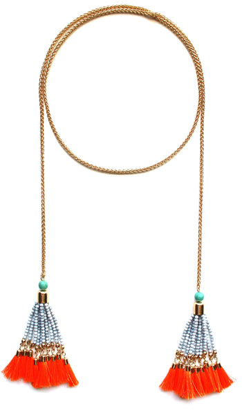 Caribbean Dreams Tassel Necklace