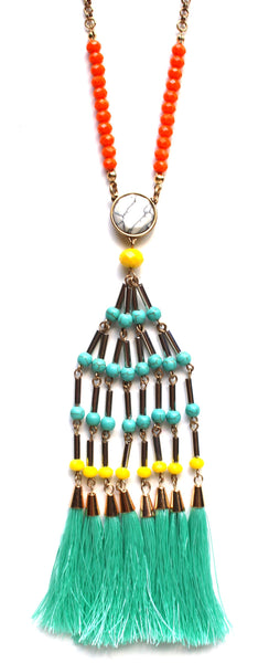 Cool Fringe Islander Necklace