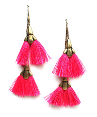 Pinky & The Fringe Layered Earrings