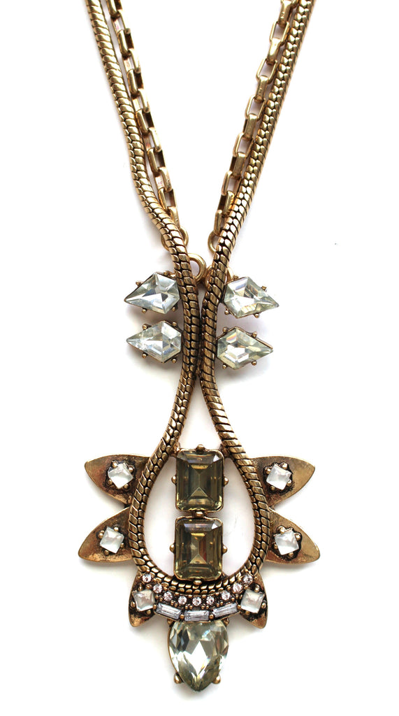 Vintage Armor Two-Way Necklace