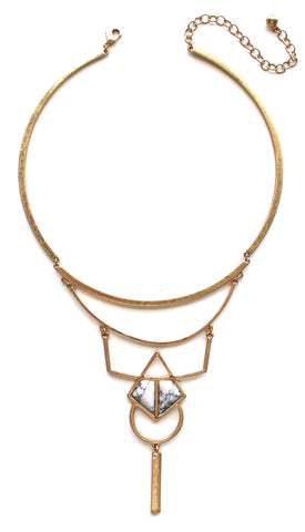 Ellie Stone Bib Necklace