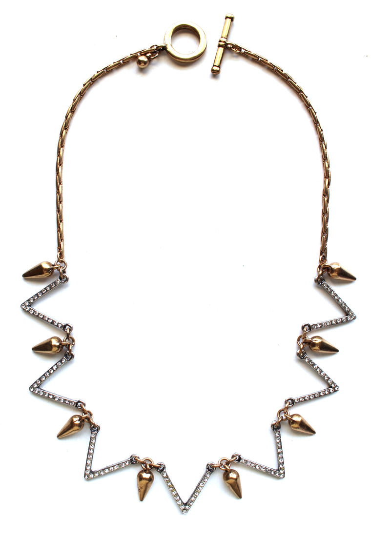 Vivienne Spike Shimmer Necklace