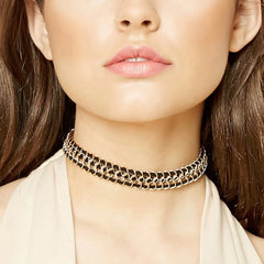 Arika Chain Choker Necklace