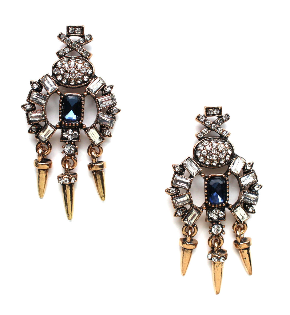 Deep Moonlight Earrings