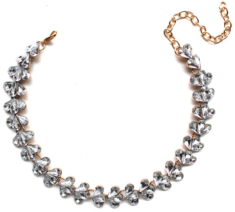 'Sparkle All The Way' Choker Statement Necklace