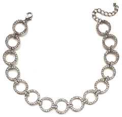 Ravishing Shine Choker Statement Necklace