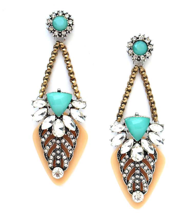 Southern Charm Turquoise Earrings
