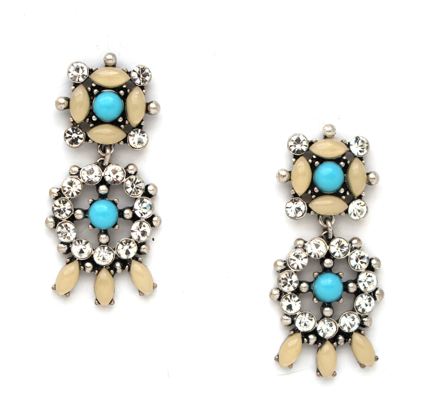 Isabel Blue Stone Earrings