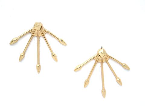 Cupid's Arrow Ear Jacket Earrings