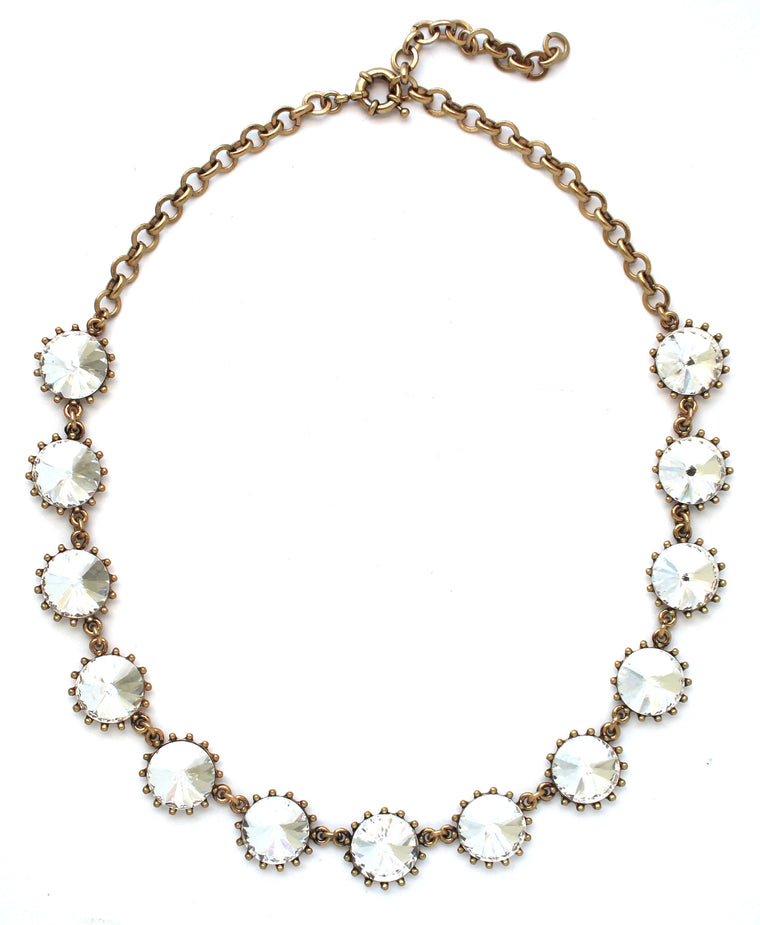 Classic Crystal Stone Necklace
