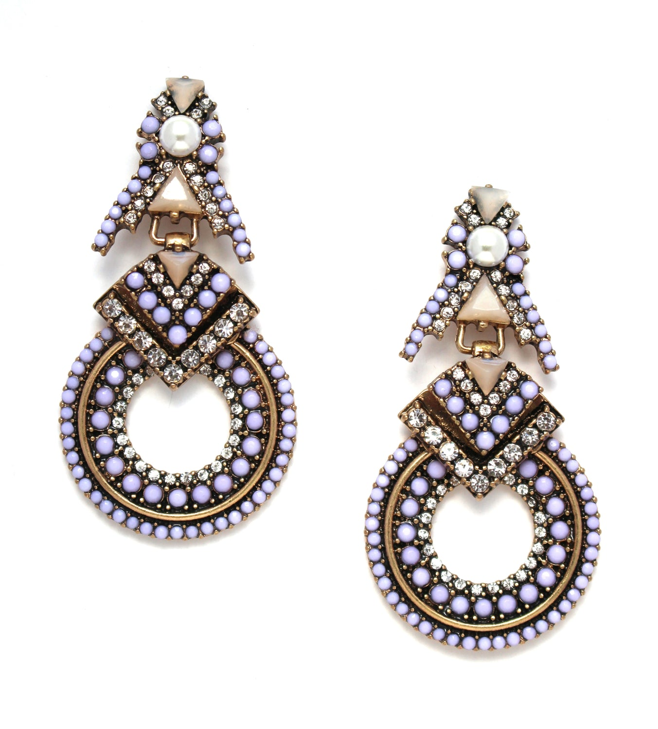 Viola Glam Statement Earrings