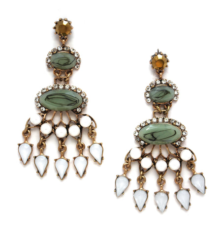 Chloe Mix Statement Earrings