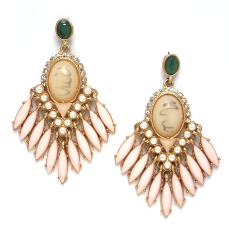 Monet Glamour Statement Earrings