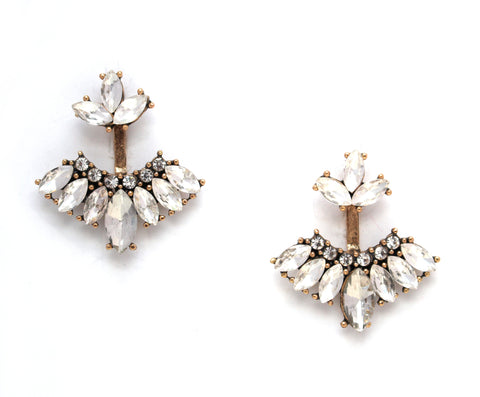 Gloria Divine Ear Jacket Earrings