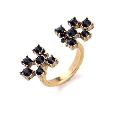 Izzy Open Cocktail Ring- Size 7