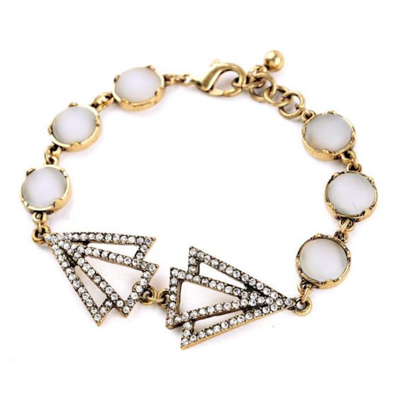 Sweet Triangle Love Bracelet