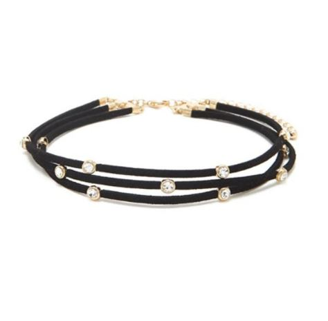 Lillian Layered Choker Necklace