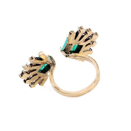 Laurita Open Cocktail Ring- Size 7