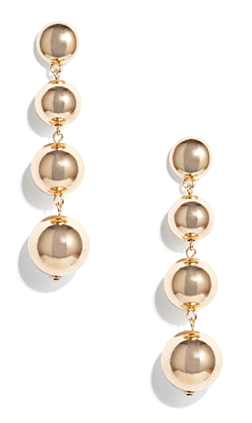 Sabrina Drop Earrings- Gold