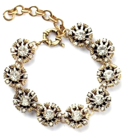 Blooming Crystals Bracelet
