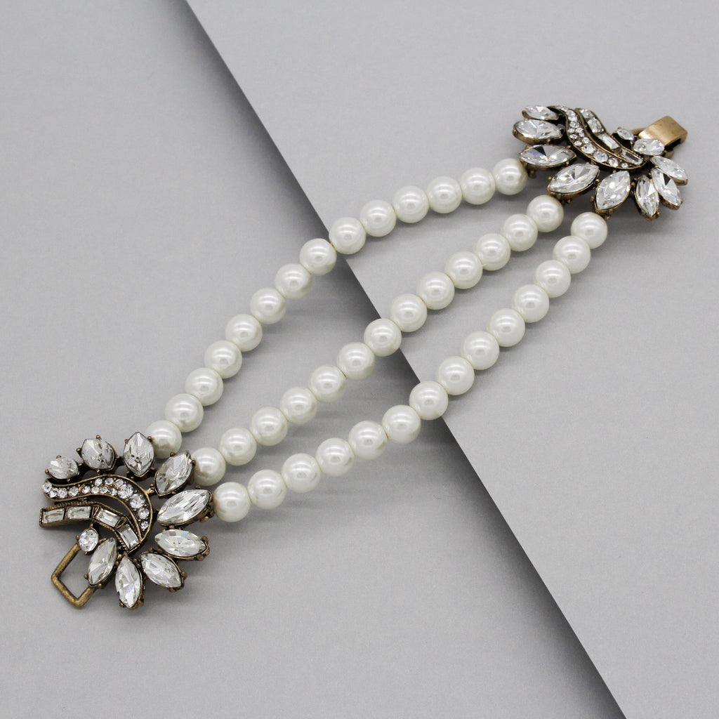 Gianna Heirloom Pearl Bracelet
