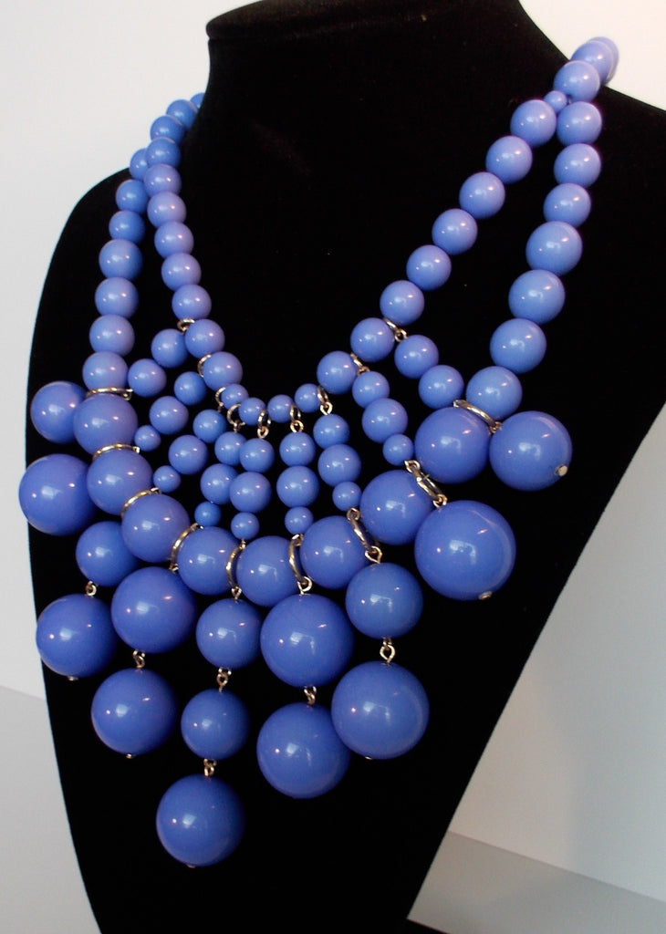Bauble Bib Statement Necklace