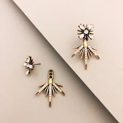 Celeste Star Ear Jacket Earrings