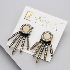 Whitney Spike Ear Jacket Earrings