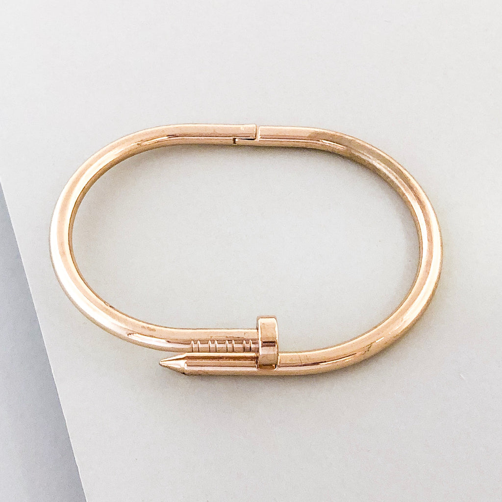 Stella Cuff Bangle Bracelet- Gold
