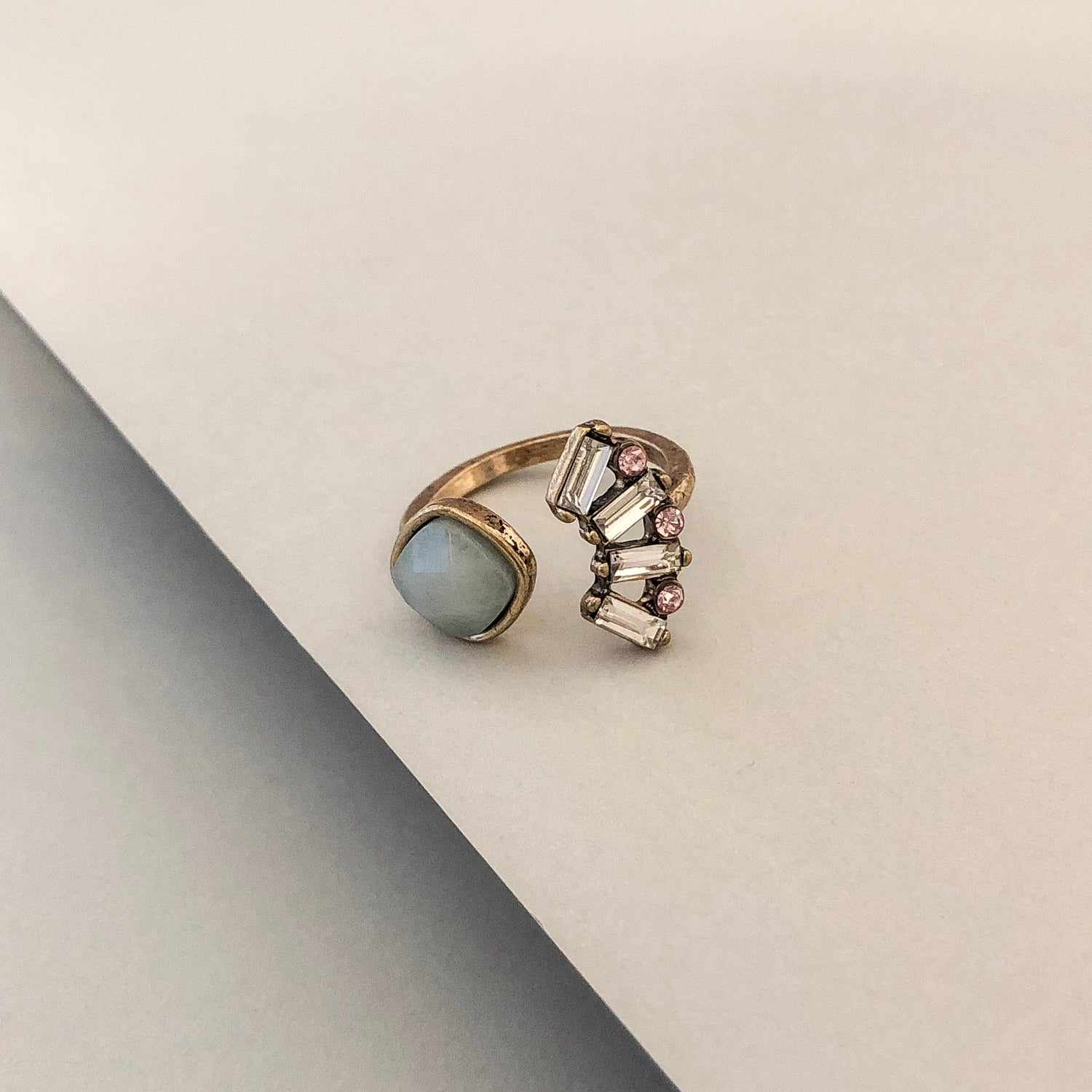 Amora Open Cocktail Ring
