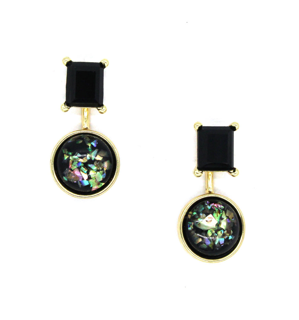 Cosmic Glow Ear Jacket Earrings