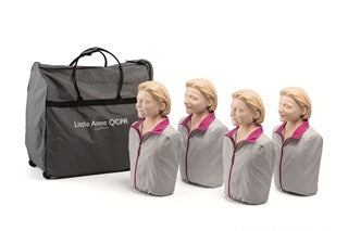 Little Anne Manikin QCPR - 4 Pack