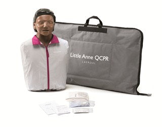 Little Anne QCPR Manikin Dark