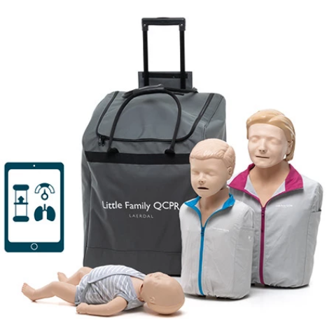Little Family Pack of Manikins Qcpr