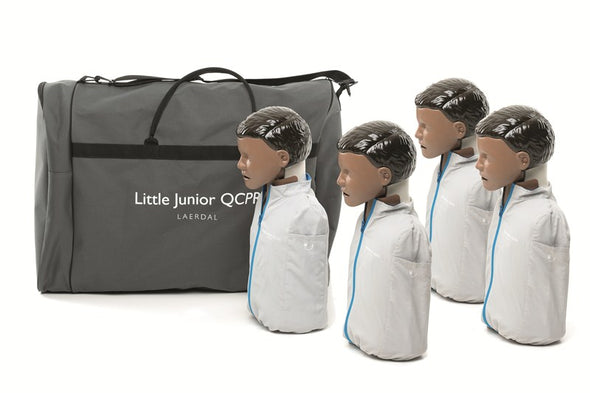 Little Junior QCPR Manikins (4 pack) - DARK
