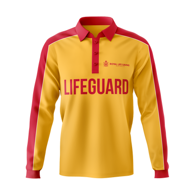 New  Lifeguard Polo Shirt