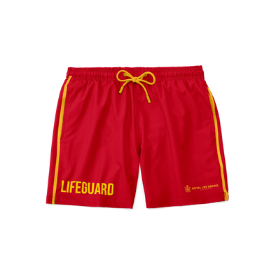 New Lifeguard Shorts - Red