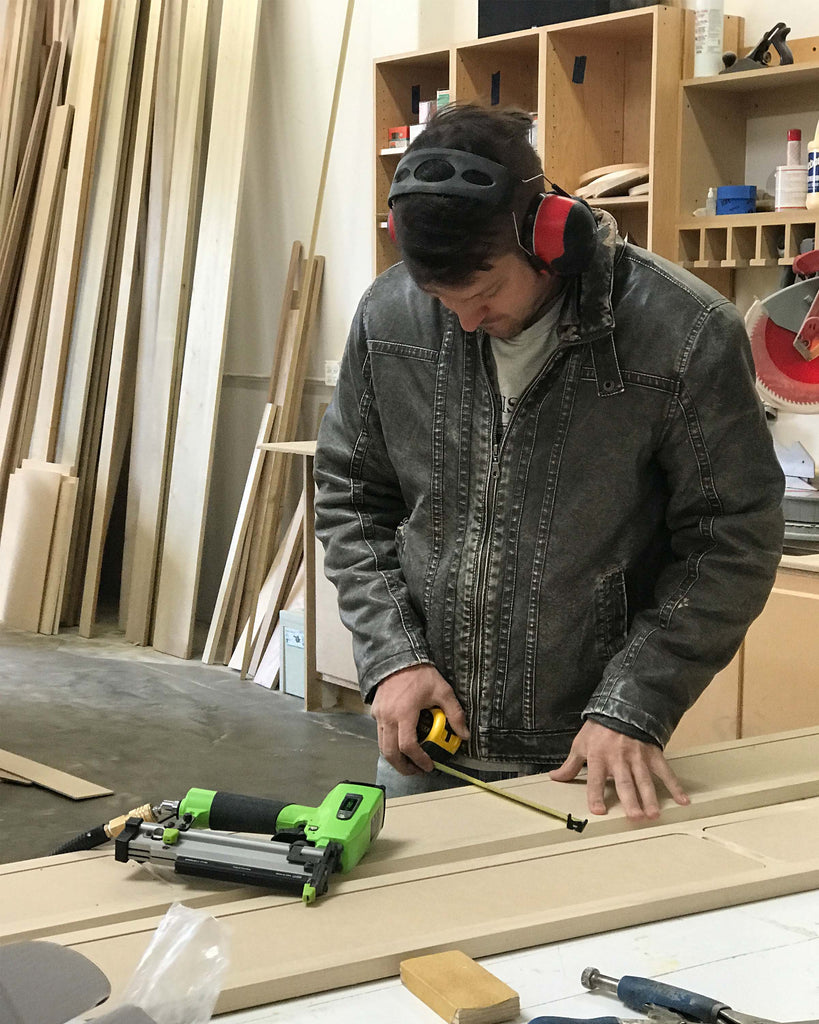 behind the scenes at Woodwork Solutions custom woodworking