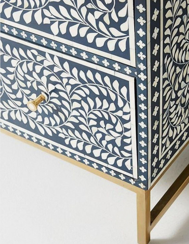 Bone Inlay furniture by Inlay Designs