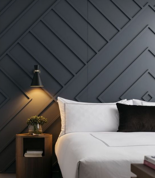 Creative ways to add an accent wall to your bedroom