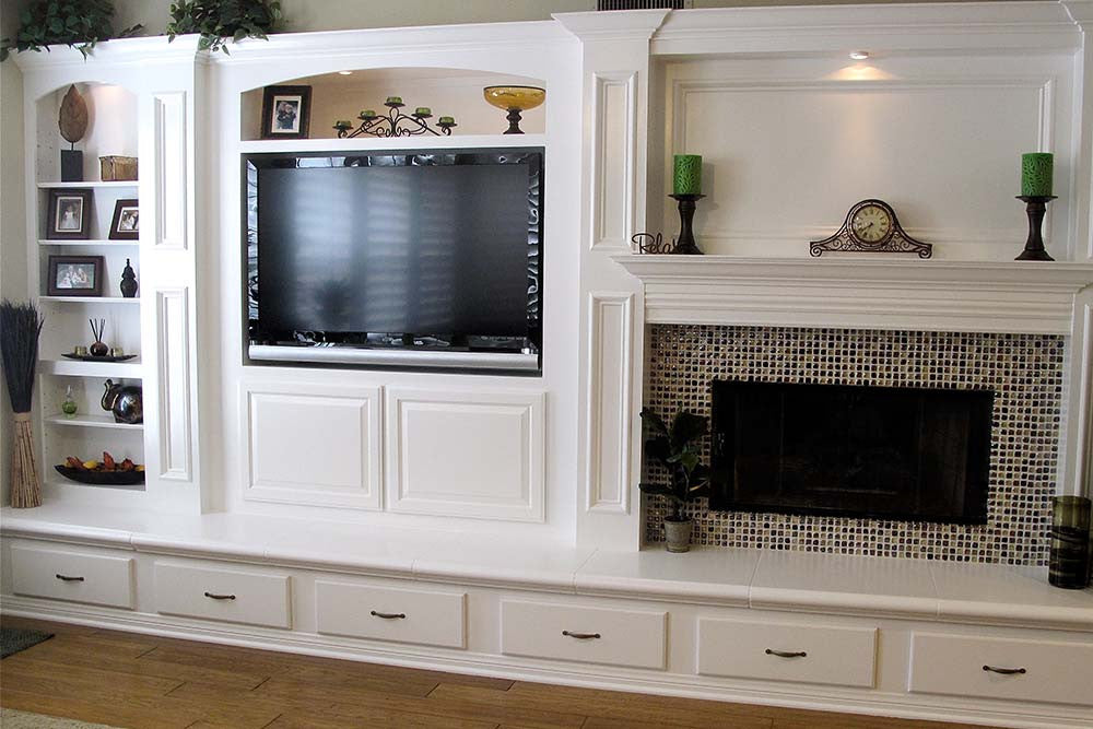 Fireplace Design entertainment center with fireplace : Entertainment & Media Centers   Woodwork Solutions