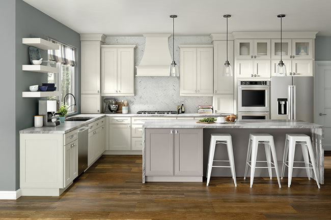 Craftsman Kitchens by KraftMaid® Cabinetry - Woodwork ...
