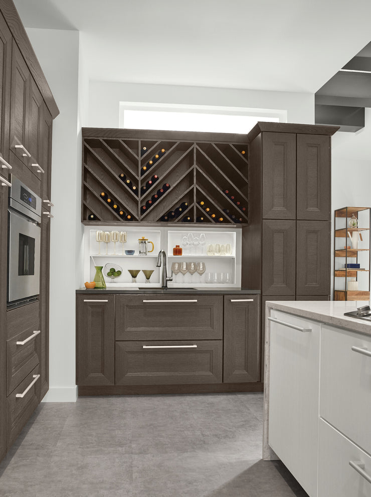 Wet Bar U0026 Wine Storage By KraftMaid® Cabinetry
