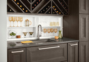 Wet Bar & Wine Storage by KraftMaid® Cabinetry